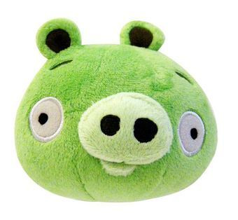 Мягкая игрушка Angry Birds Plush 8-Inch Piglet with Sound
