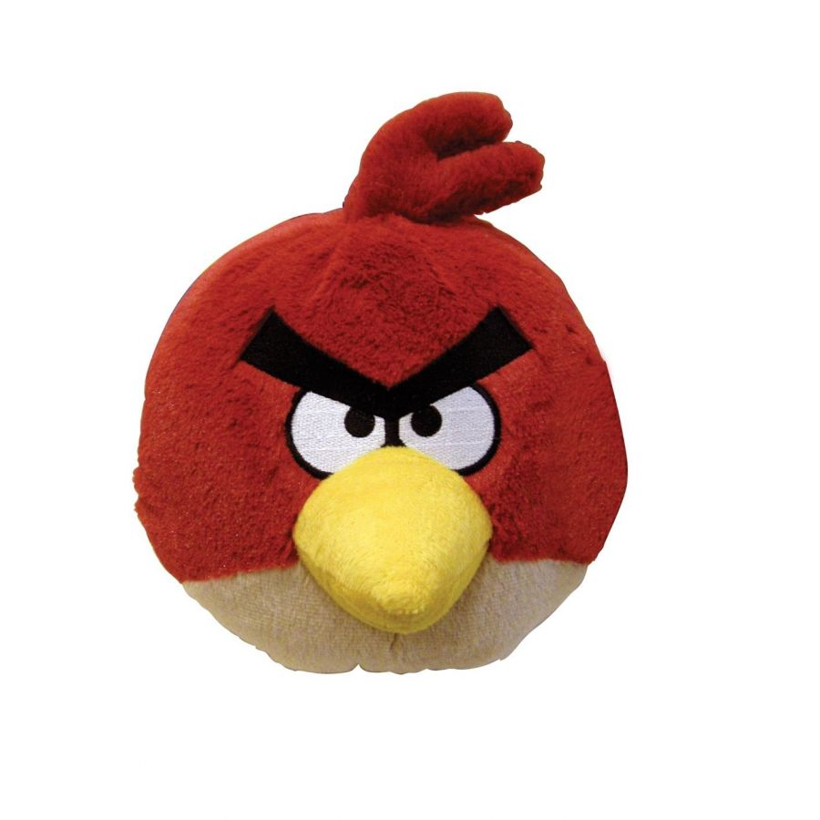 Мягкая игрушка Angry Birds Plush 5-Inch Red Bird with Sound