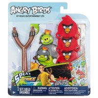 Набор игровой Tech4Kids ANGRY BIRDS РОГАТКА С ЛИПКИМИ ПТИЧКАМИ (3 птички)