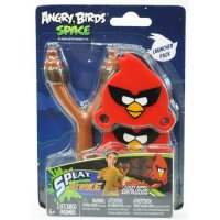 Набор игровой Tech4Kids ANGRY BIRDS SPACE РОГАТКА С ЛИПКИМИ ПТИЧКАМИ (2 птички)