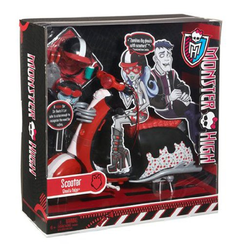 Monster High Ghoulia Yelps скутер Vehicle