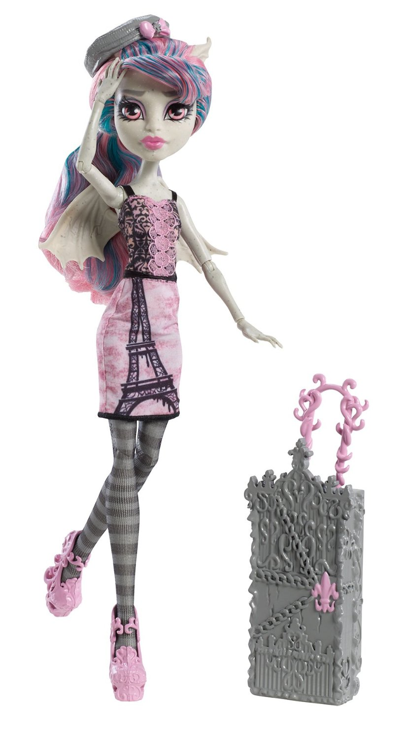 Monster High Travel Scaris Rochelle Goyle Doll