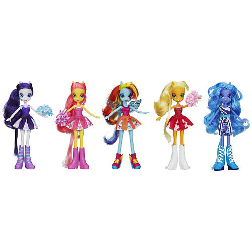 Набор кукол My Little Pony Девушки Эквестрии (Equestria Girls Canterlot High Pep Rally Collection Pack)