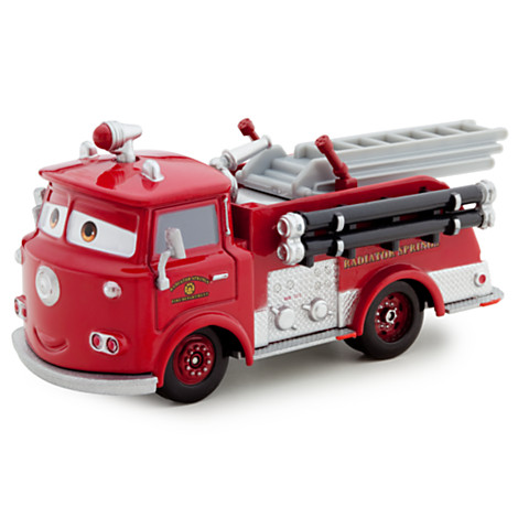 Тачка Пожарка Red Die Cast Fire Engine