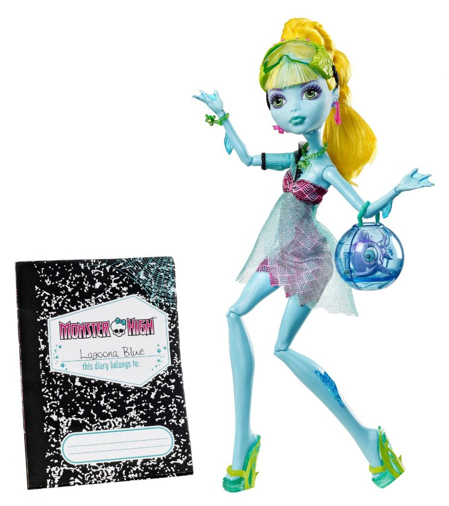 Monster High, 13 Желаний, Лагуна Блю